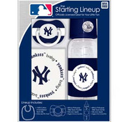 "NY Yankees ""Starting Lineup"" 3-pc Gift Set"