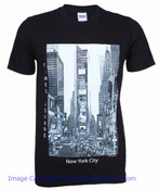 Black Giant Times Square Photo Tee