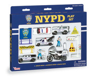 NYPD 14 Piece Play Set