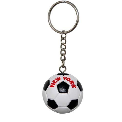 NY Soccer Ball Keyring photo