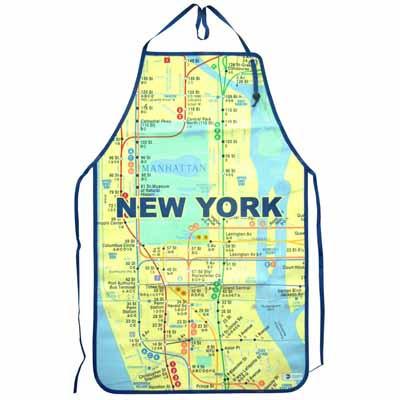Nyc Subway Map Apron