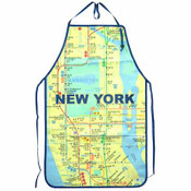 NYC Subway Map Apron