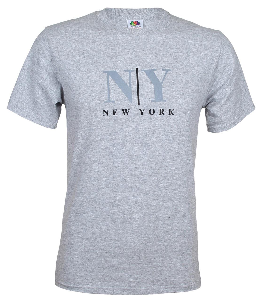 Gray NY/ New York T-Shirt photo