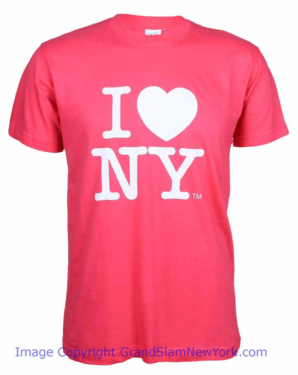 b4f7988a Hot Pink I Love NY T-Shirt Photo. Loading zoom