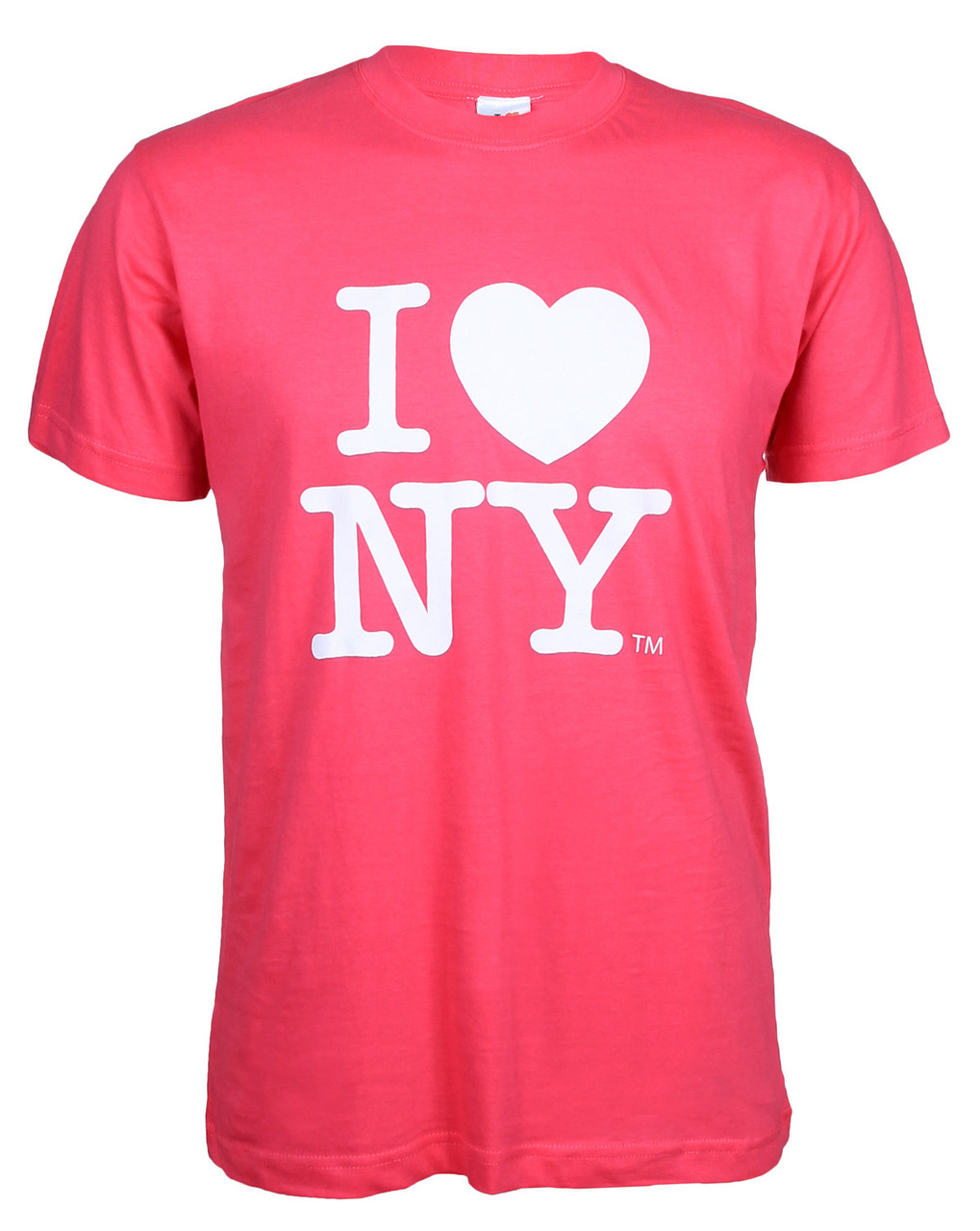 Hot Pink I Love NY T-Shirt photo