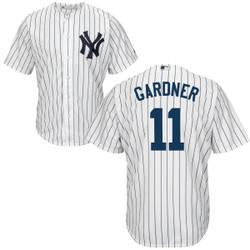Yankees Replica Brett Gardner Home Jersey Photo