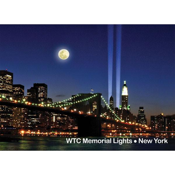 Brooklyn Bridge Lights Photo Magnet photo