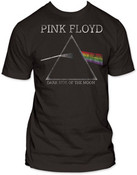 Pink Floyd- Dark Side of The Moon Black Adult T-Shirt