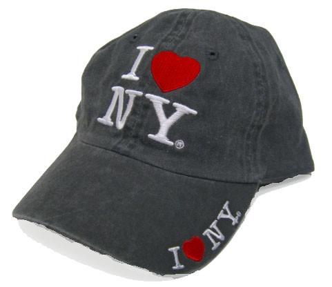 I LOve NY Charcoal Cap photo