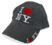 I LOve NY Charcoal Cap