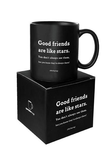 Good Friends Are Like Stars Quotable Mug photo