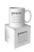 Peace Quotable Mug