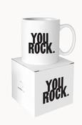 You Rock Quotable Mug