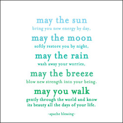 May the Sun Quotable Card Photo
