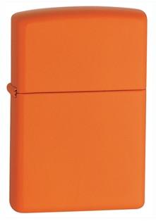 Classic Orange Matte Zippo photo