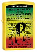 Bob Marley 1975 Tour Yellow Zippo