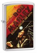 Bob Marley 1976 Tour High Polish Chrome Zippo