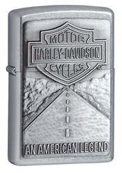 Harley Davidson Legend Street Chrome Zippo Photo