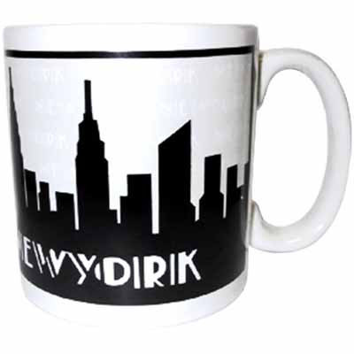 NYC Grey Skyline 20oz Mug photo