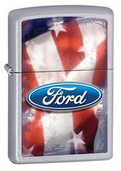 Ford Made in USA Street Chrome Zippo Photo