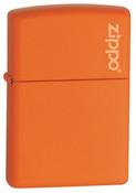 Classic with Zippo Orange Matte Zippo