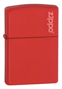 Classic with Zippo Red Matte Zippo