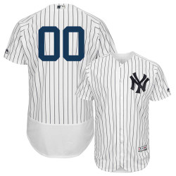 NY Yankees Authentic Personalized Home Jersey Photo