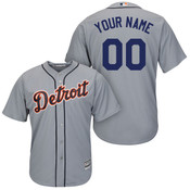 Detroit Tigers Replica Personalized Road Jersey