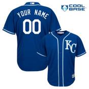 Kansas City Royals Personalized Royal Blue Alt Jersey