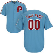Philadelphia Phillies Cooperstown Personalized Home Jersey