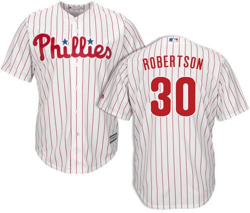 David Robertson Jersey - Philadelphia Phillies Replica Adult Home Jersey photo