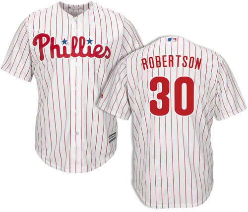 David Robertson Youth Jersey - Philadelphia Phillies Replica Kids Home Jersey photo