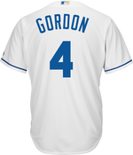 Alex Gordon KC Royals Replica Adult Home Jersey