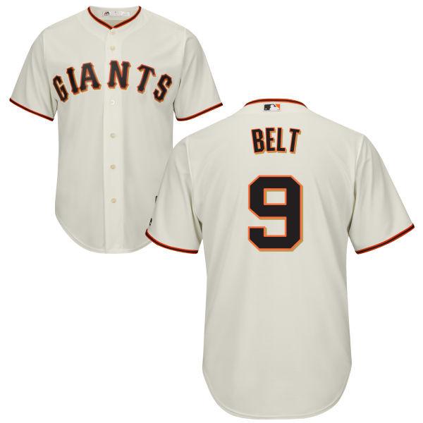 Brandon Belt SF Giants Replica Adult Home Jersey photo