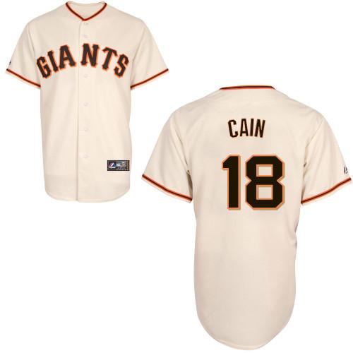 San Francisco Giants Adult Replica Matt Cain Home Jersey photo