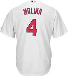 Yadier Molina St.Louis Cardinals Replica Adult Home Jersey Photo