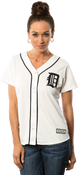 Detroit Tigers Replica Ladies Home Jersey