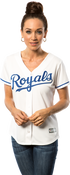Kansas City Royals Replica Ladies Home Jersey