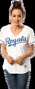 Kansas City Royals Replica Ladies Home Jersey