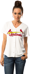 St.Louis Cardinals Replica Ladies Home Jersey Photo