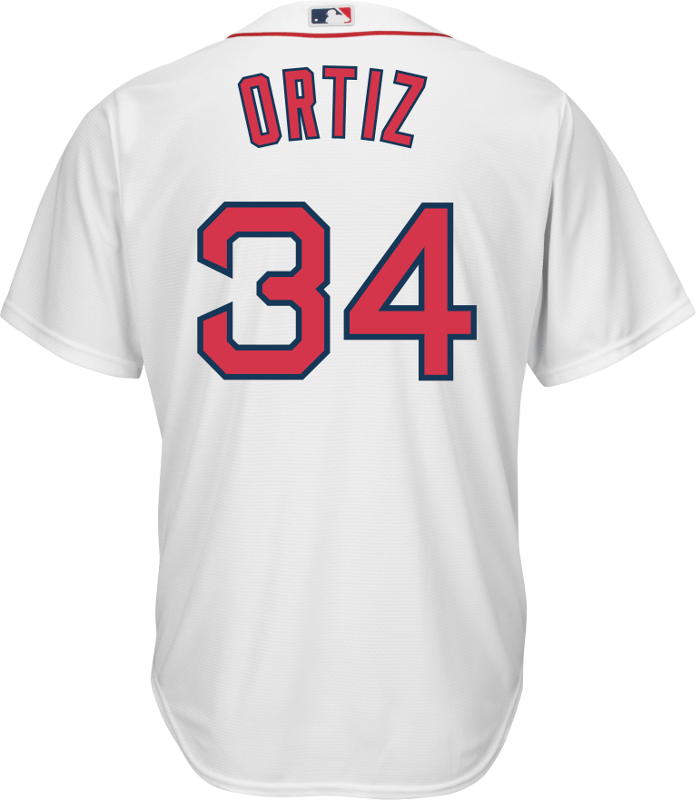 1e3167c0b David Ortiz Boston Red Sox Replica Youth Home Jersey Photo. Loading zoom