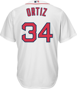 David Ortiz Boston Red Sox Replica Youth Home Jersey