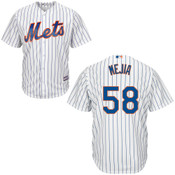 New York Mets Youth Replica Jenrry Mejia Home Jersey