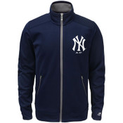 Yankees Navy Youth Home Plate Track Jacket