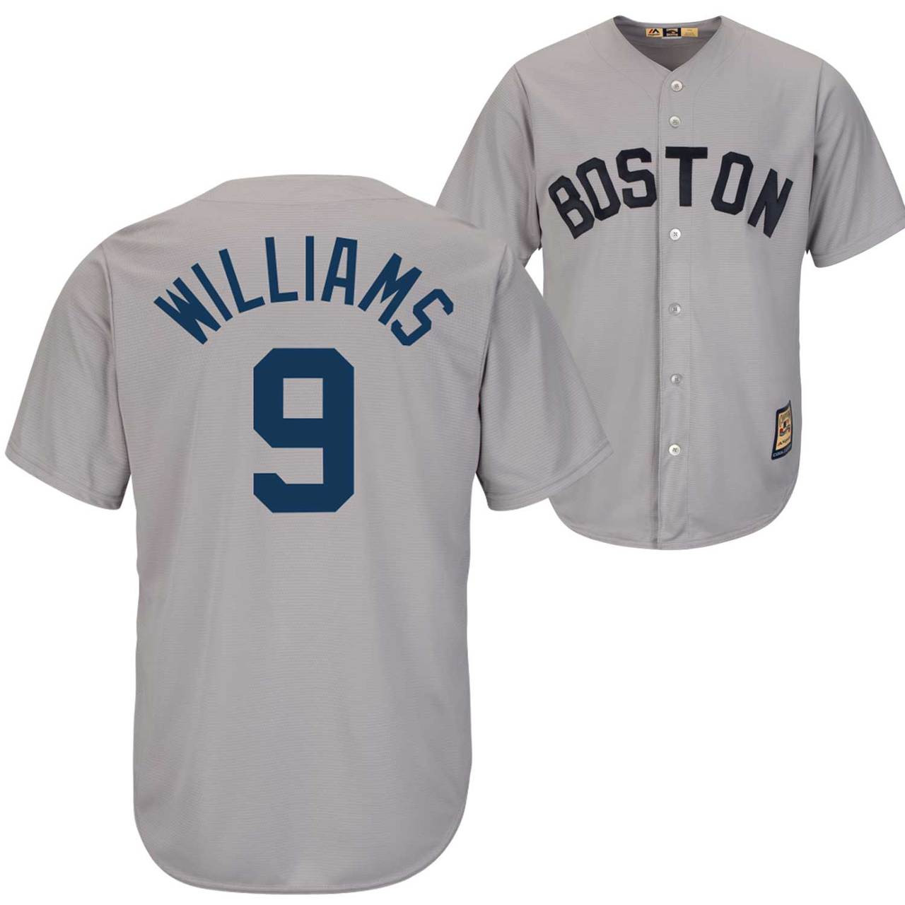 8b2c45803 ... Boston Red Sox Cooperstown Throwback Jersey Photo. Loading zoom