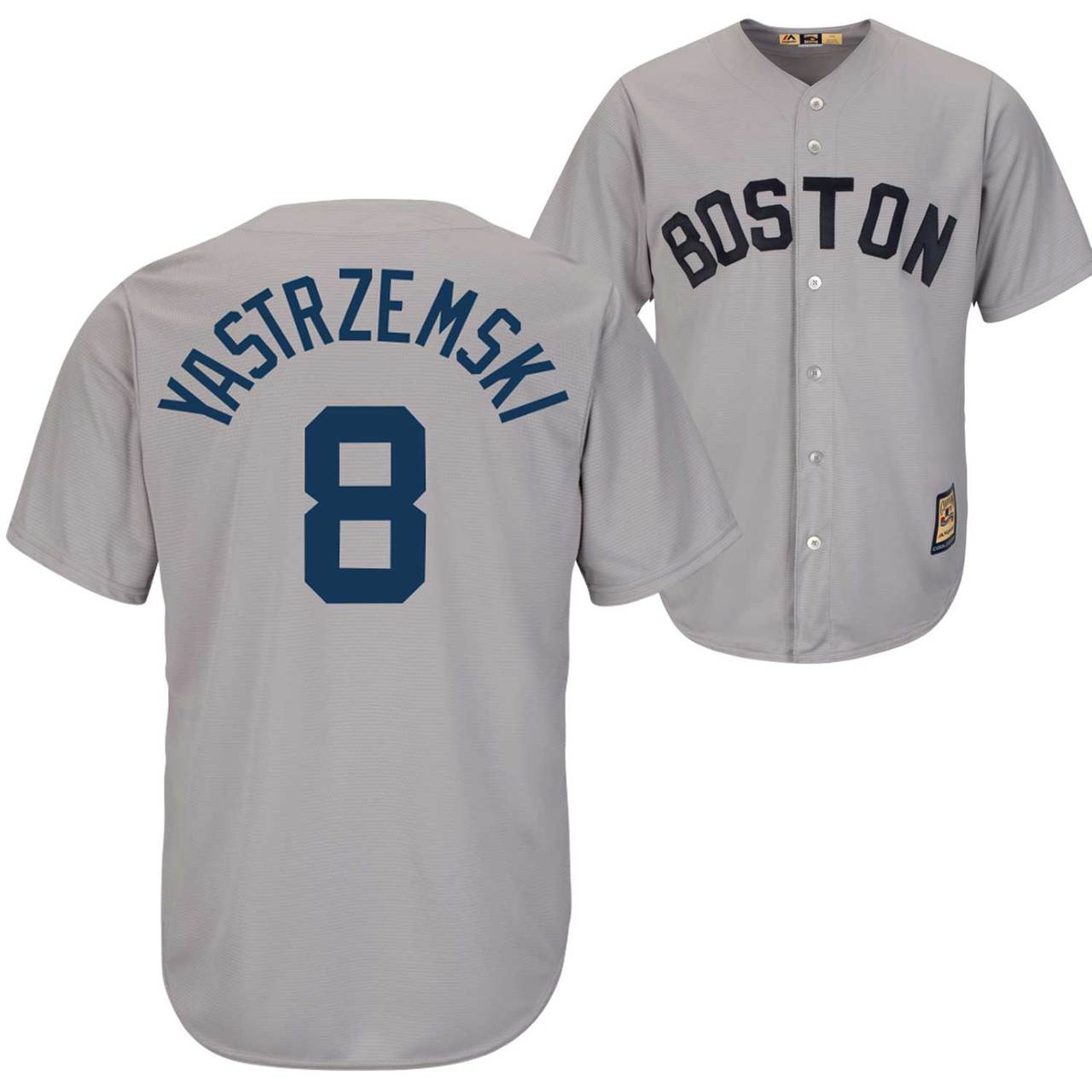 Carl Yastrzemski Jersey - Boston Red Sox Cooperstown Throwback Jersey  Photo. Loading zoom 861a2cefc4d