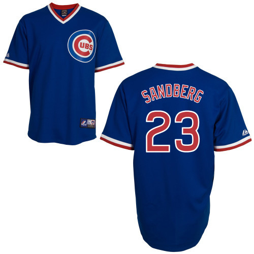 detailed pictures 8634f 40e6b Ryne Sandberg Jersey - Chicago Cubs Cooperstown Throwback Jersey