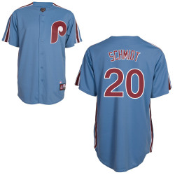 Mike Schmidt Jersey - Philadelphia Phillies Cooperstown Throwback Jersey Photo