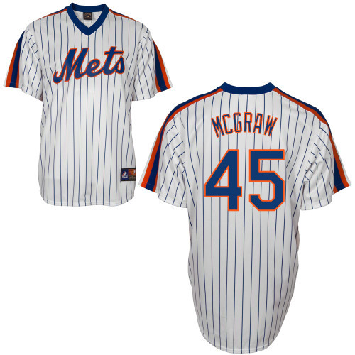 Tug Mcgraw Jersey - New York Mets Cooperstown Throwback Jersey photo