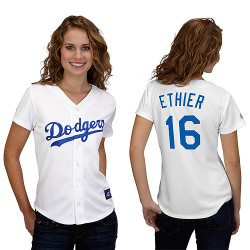 Andre Ethier  La Dodgers Ladies Replica Jersey